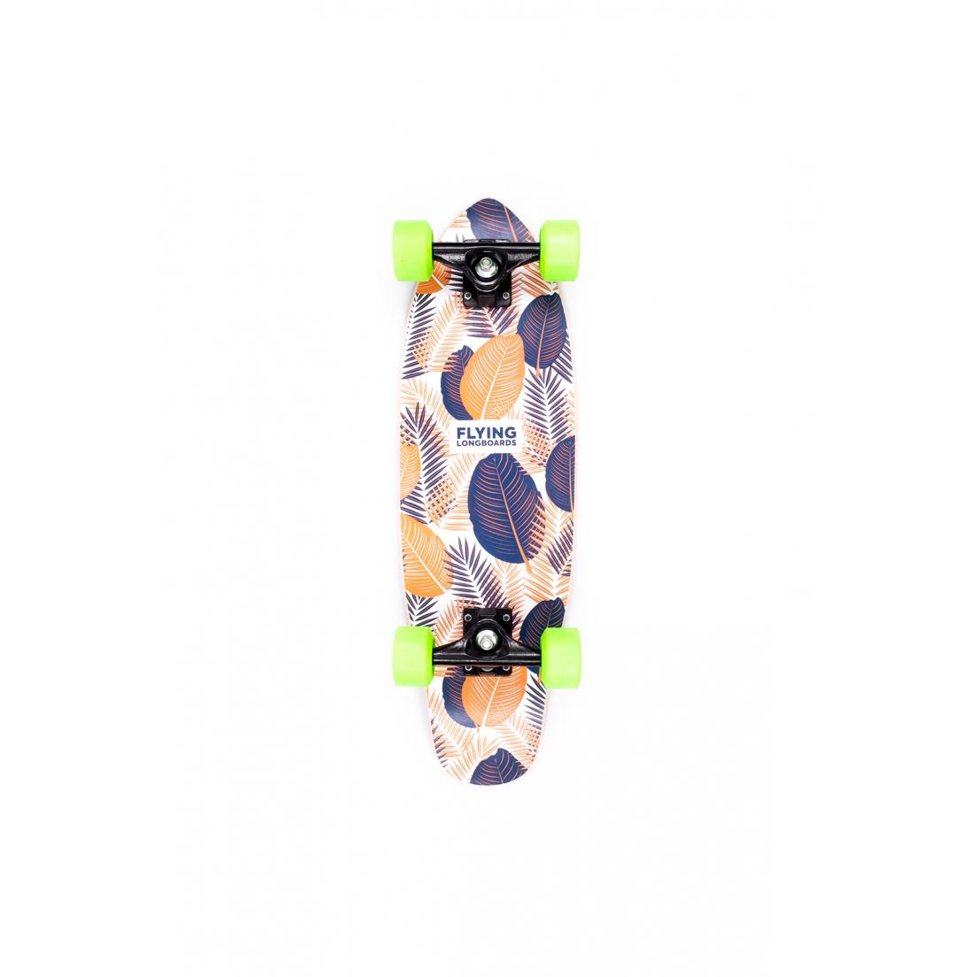 """Skate Mini Cruiser Flying Montado Flowers 6,7"""""""