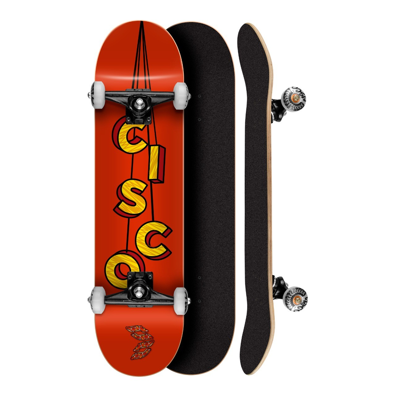 Skate Montado Cisco - Serie The Cisco Red 8""