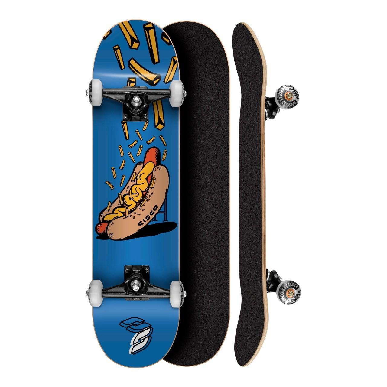 """Skate Montado Profissional Cisco Hotdog 7.75"""" - Abec 7"""