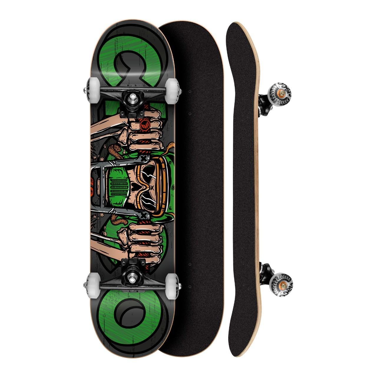 """Skate Montado Profissional Cisco Motorcycle 7.75"""" - Abec 7"""