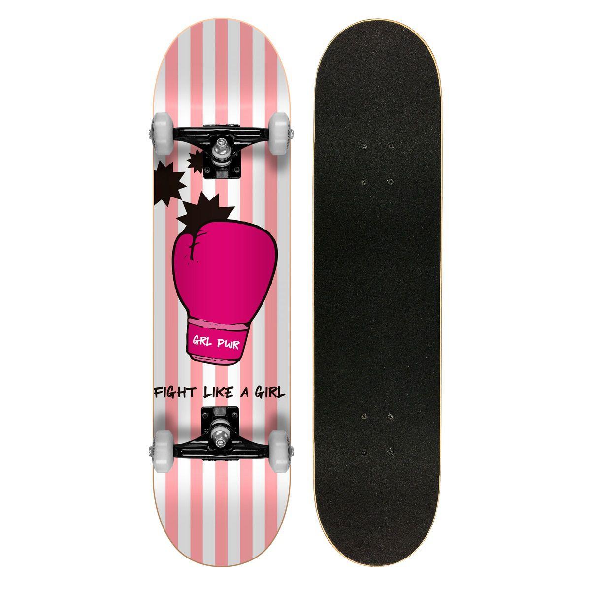 Skate Montado Profissional Cisco Feminino Glove - Abec 7
