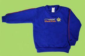 Blusão Moleton Fechado Sem Capuz Shekinah