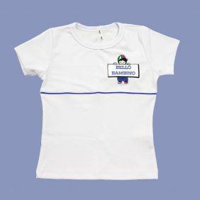 Camiseta Babylook Canelada Manga Curta Bello Bambino