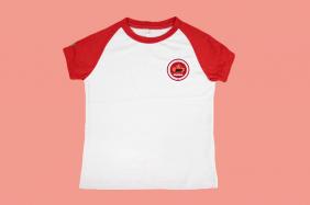 Camiseta Babylook Manga Curta Maple Bear Ensino Fundamental
