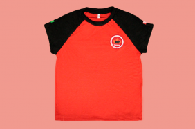 Camiseta Babylook Manga Curta Vermelha Maple Bear Ensino Fundamental II (Somente Fund II)