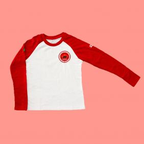 Camiseta Babylook Manga Longa Maple Bear Ensino Fundamental