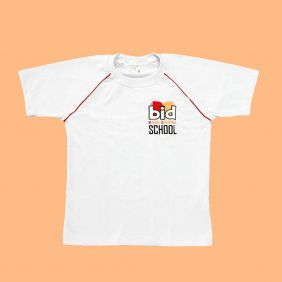 Camiseta Manga Curta Branco BID