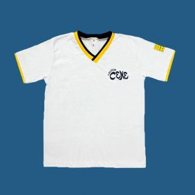Camiseta Manga Curta Branco Colégio Cene