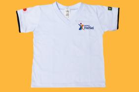 Camiseta Manga Curta Branco Heisei