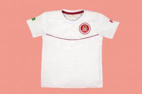 Camiseta Manga Curta Branco Maple Bear Ensino Infantil