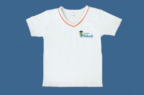 Camiseta Manga Curta Branco Palandi