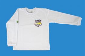 Camiseta Manga Longa Branco Externato São Rafael