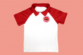 Camiseta Polo Manga Curta Maple Bear Ensino Fundamental