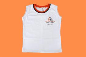 Camiseta Regata Branco Externato Santana