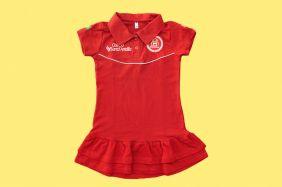 Vestido Polo Colégio Santa Amália Maple Bear Ensino Infantil