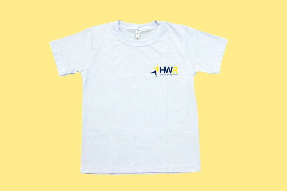 Camiseta Manga Curta Branco Henri Wallon Recrearte