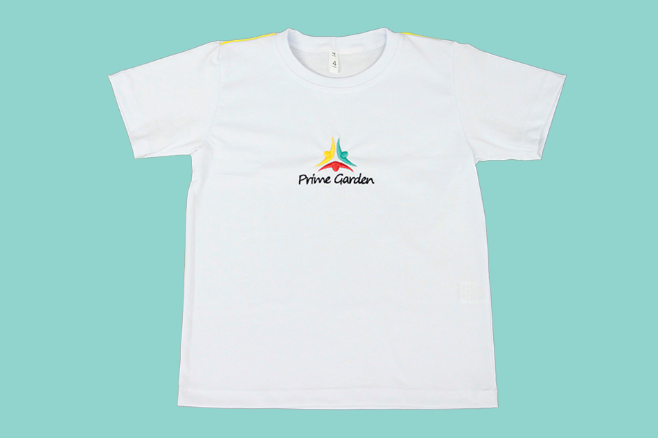 Camiseta Manga Curta Branco Prime Garden