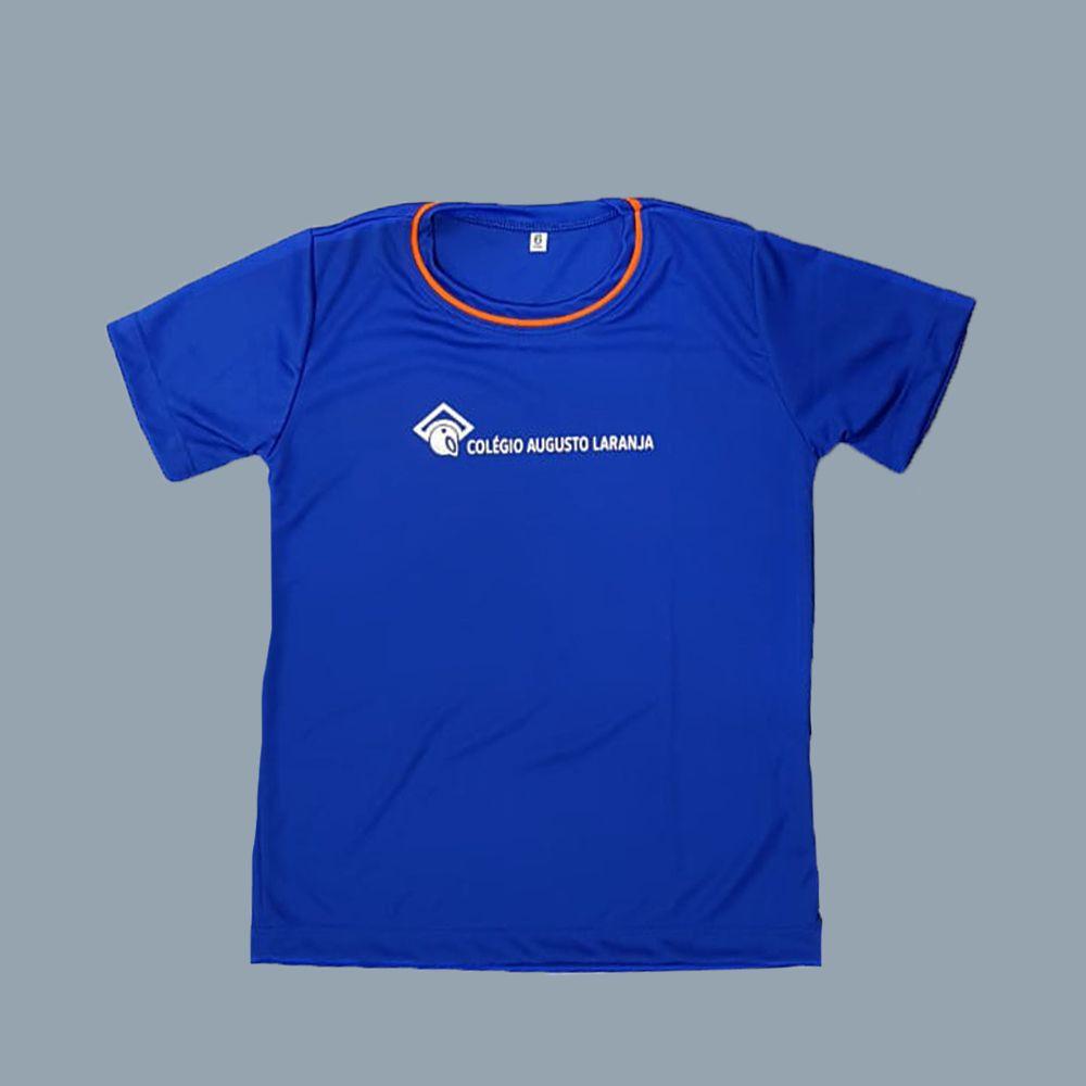 Camiseta Manga Curta Dry Fit Colégio Augusto Laranja (Somente E. Fund e E. Médio)