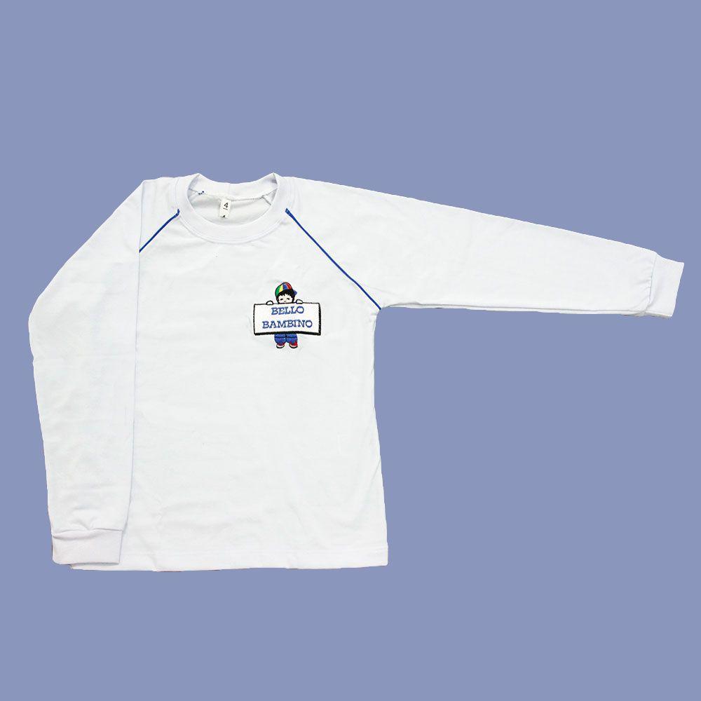 Camiseta Manga Longa Bello Bambino