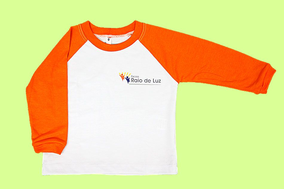 Camiseta Manga Longa Raio de Luz