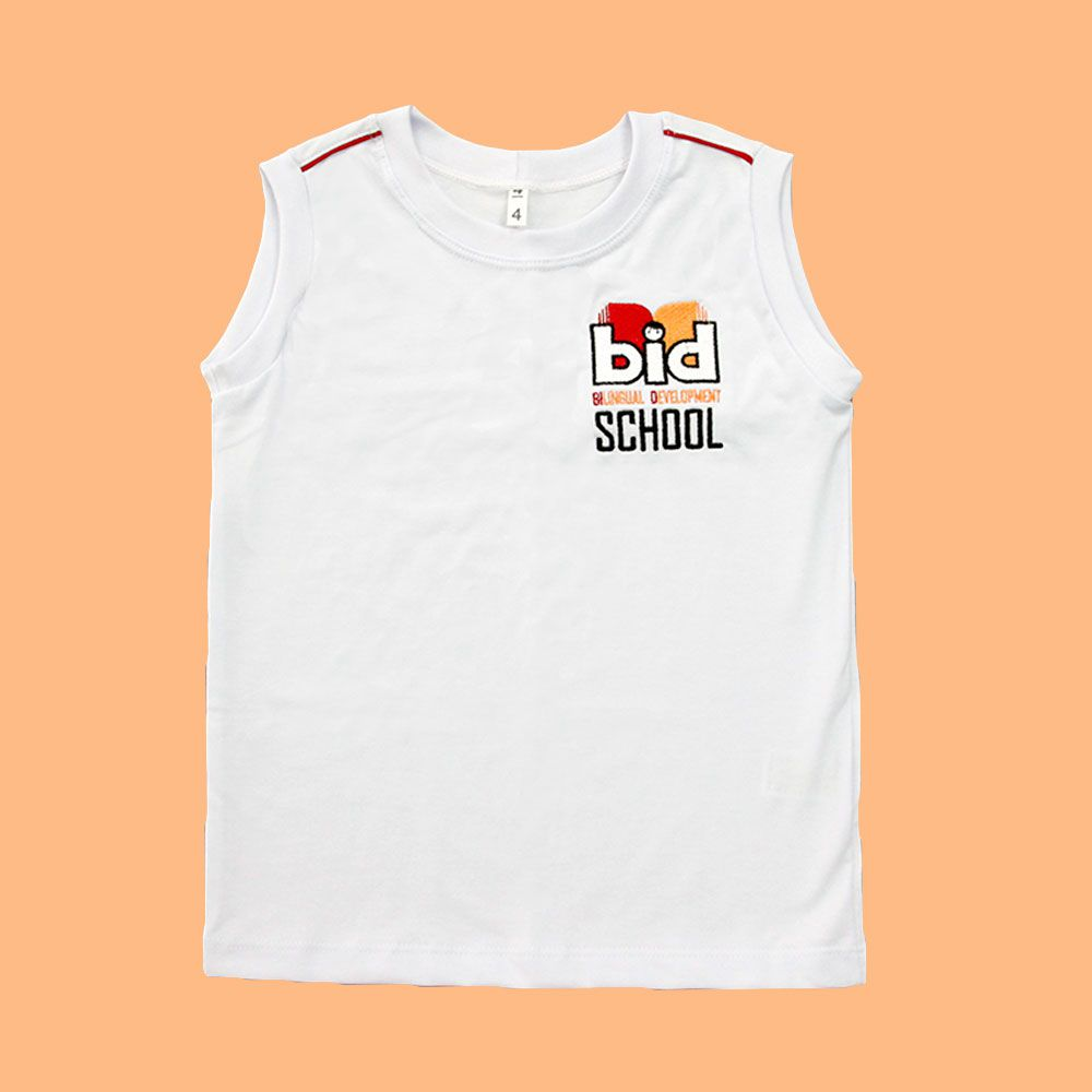Camiseta Regata Branco BID