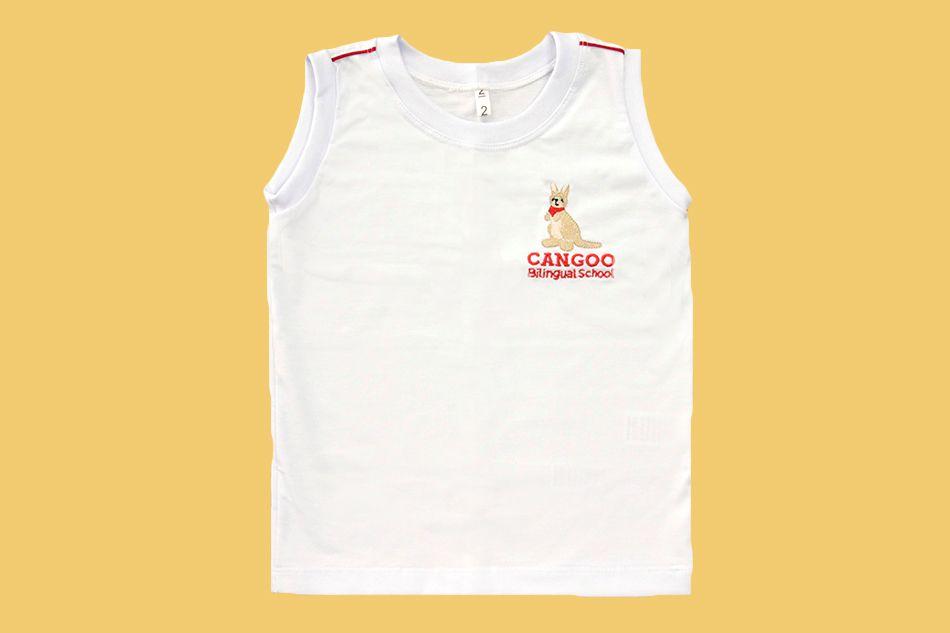 Camiseta Regata Branco Cangoo