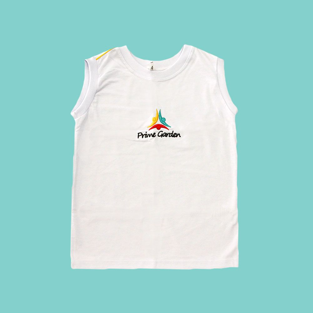 Camiseta Regata Branco Prime Garden