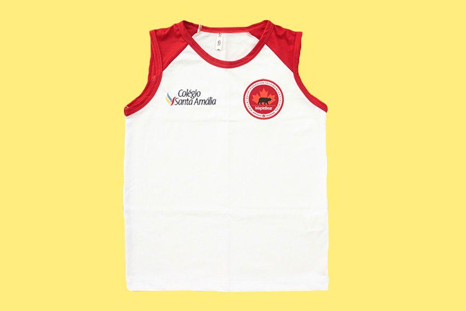 Camiseta Regata Colégio Santa Amália Maple Bear Ensino Fundamental