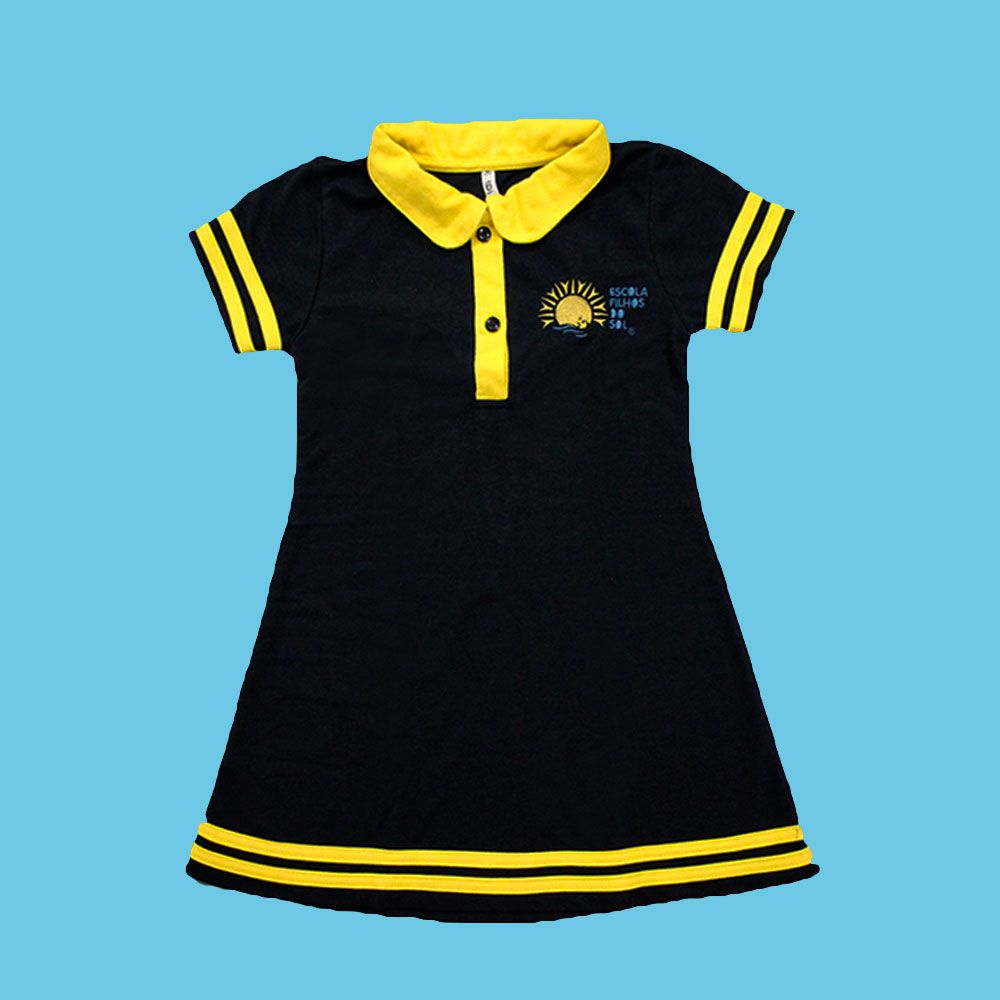 Vestido Polo Filhos do Sol Ensino Fundamental