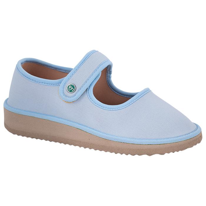 Sapato Boneca para Esporão e Fascite Plantar Mundoflex - Azul Bebê