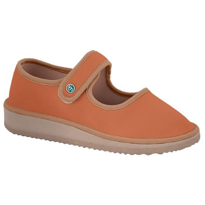 Sapato Boneca para Esporão e Fascite Plantar Mundoflex - Caramelo