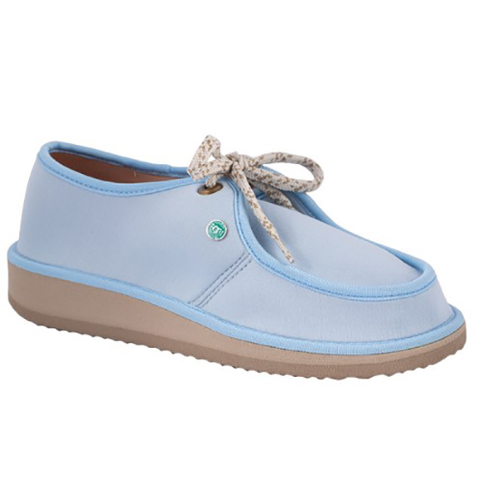 Sapato Casual para Esporão e Fascite Plantar Mundoflex - Azul Bebê