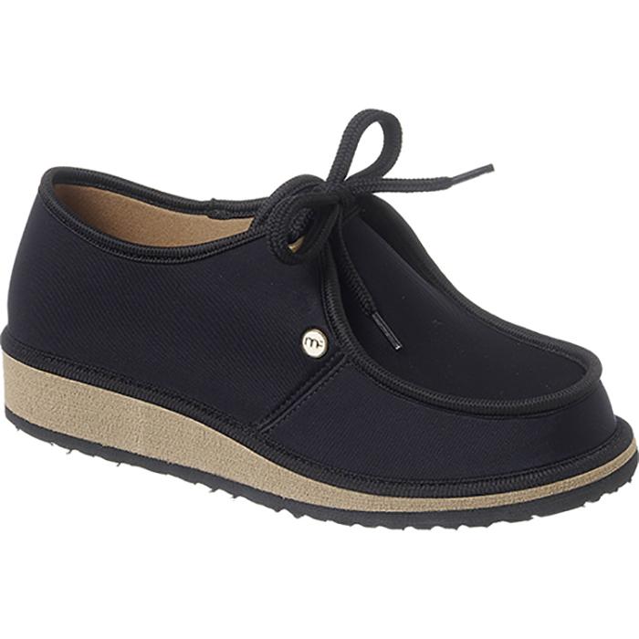 Sapato Casual para Esporão e Fascite Plantar Mundoflex -Preto