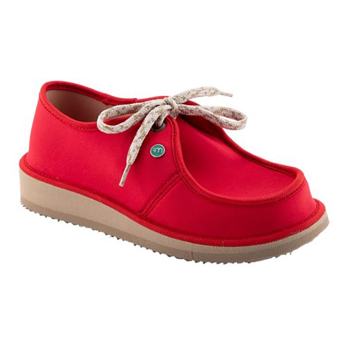 Sapato Casual para Esporão e Fascite Plantar Mundoflex - Vermelho
