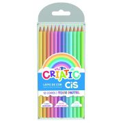 Lápis 12 cores Cis Criatic Tom Pastel