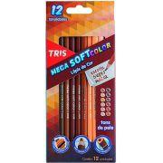 Lápis 12 Cores Tons de Pele TRIS
