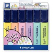 Marcador Staedtler TextSurfer 6 Cores