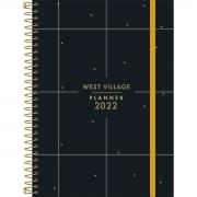Planner 2022 espiral West Village 12,9 X 18,8 CM - Tilibra