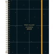 Planner 2022 Espiral West Village 17,7 x 24 cm - Tilibra