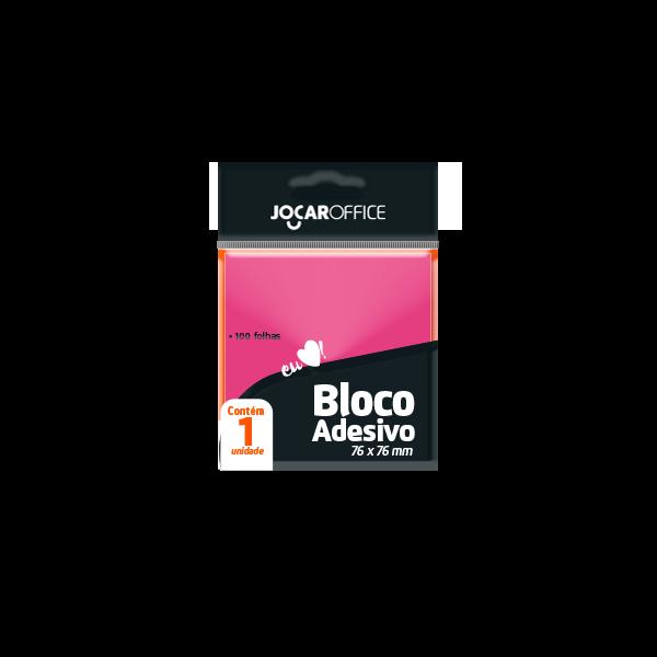Bloco Adesivo Jocar Office Com 100 Folhas   76MMX76MM
