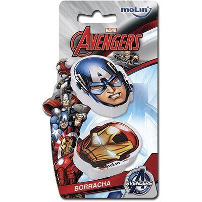 Borracha Molin Avengers Blister C/2