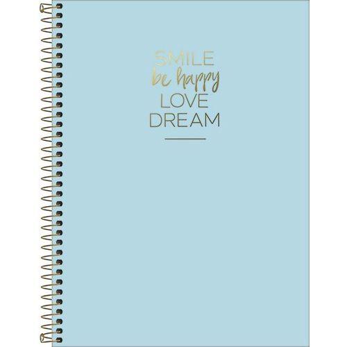 Caderno Espiral Happy 1 Matéria 80 Folhas