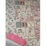 Kit de Tecido Baby Girl