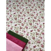 Kit de Tecido Floral 2