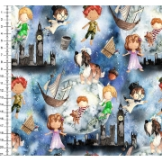 Tecido Peter Pan 0,50cm x 1,50M