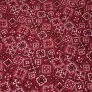 Tecido Tricoline Bandana Vermelho 1M X 1,50M