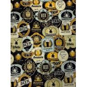 Tecido Tricoline Cerveja 1 - 50 x 1,50M