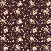 Tecido Tricoline Coleção Botânica #06 - 0,50CM X 1,50CM