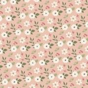 Tecido Tricoline Coleção Botânica #07 - 0,50CM X 1,50CM