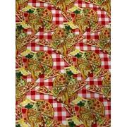 Tecido Tricoline Coleção Pizza 1 -  50 x 1,50M